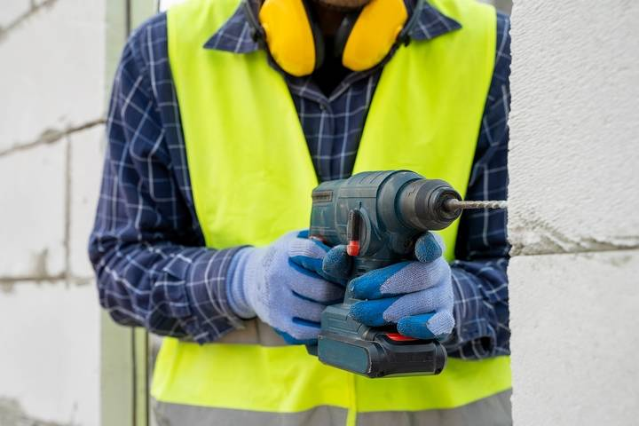 You should be careful of mechanical hazards for construction workers.