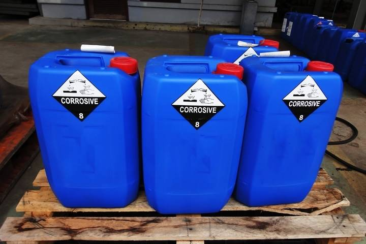 Chemical hazards are among the most common construction workplace hazards.