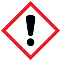 The meaning of the exclamation mark WHMIS label is that the product can result in health consequences.