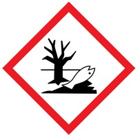 The meaning of the environmental WHMIS label is that the product may represent harm to the environment.